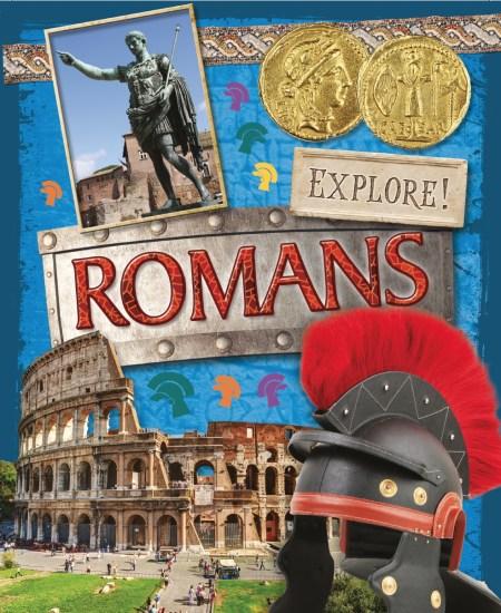 Explore!: Romans by Jane Bingham | Hachette UK