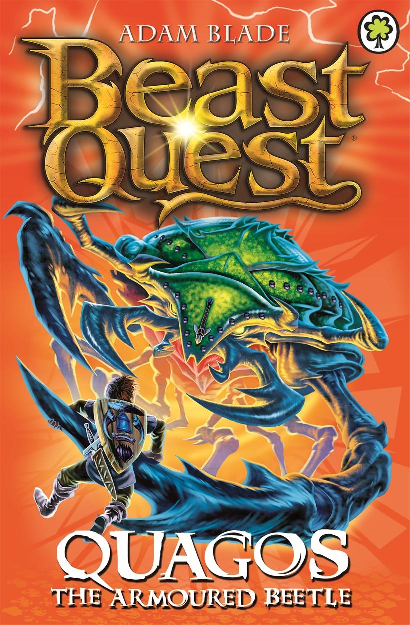 beast quest quagos the armoured beetleadam blade